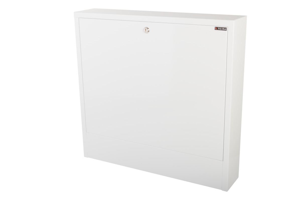 Surface mounted manifold cabinets